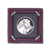 Headdress Silk Bandana, Black - Image 1 of 1
