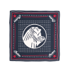Headdress Silk Bandana, Navy - Image 1 of 1