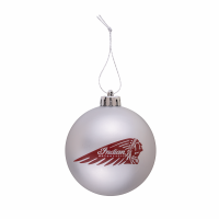 Christmas Baubles With Headdress Logo, Set of 6