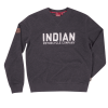 Men's Pull-Over Sweatshirt with Block Logo, Charcoal - Image 1 of 2