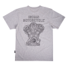 Men's Engine T-Shirt, Gray - Image 2 de 4