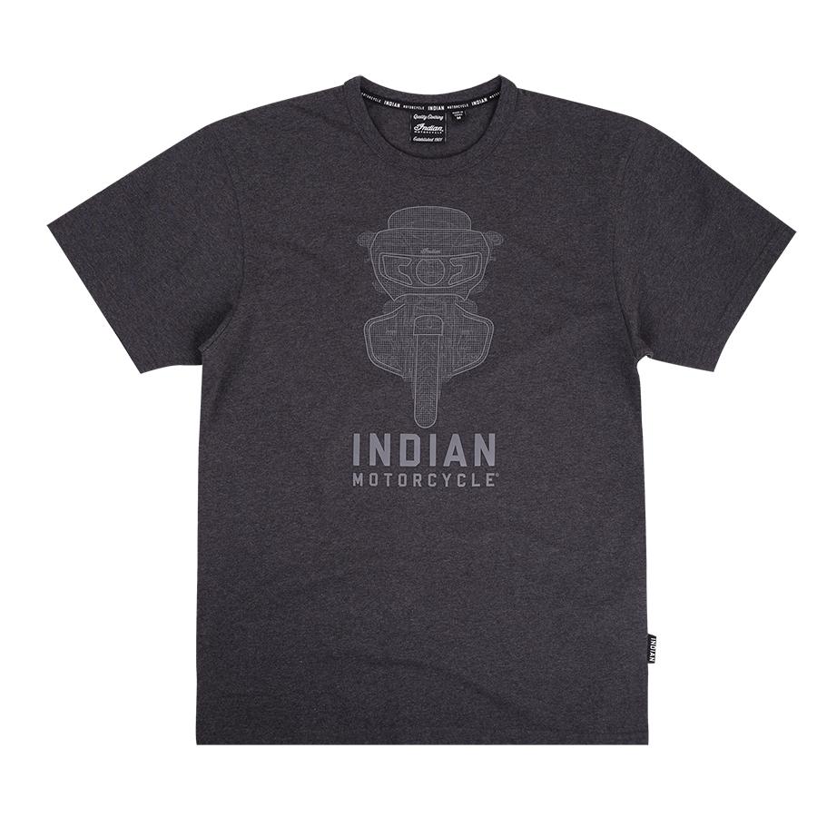 Men's Rider T-Shirt, Charcoal