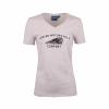 Women's Headdress Motif T-Shirt, Beige - Image 1 of 1