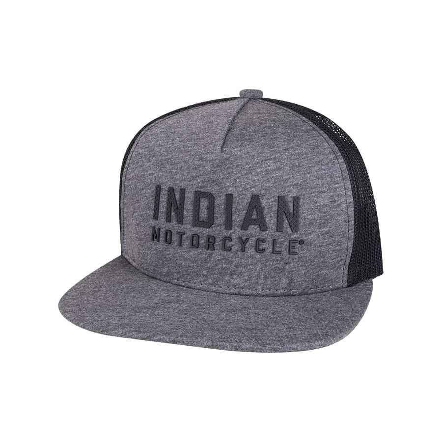 Flatbill Block Logo Hat, Gray