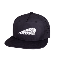 Headdress Sport Trucker Hat, Black
