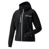 Women's Softshell Jacket with White Polaris® Logo, Black - Image 1 of 2