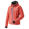 Women's Softshell Jacket with White Polaris® Logo, Coral - Image 1 of 4