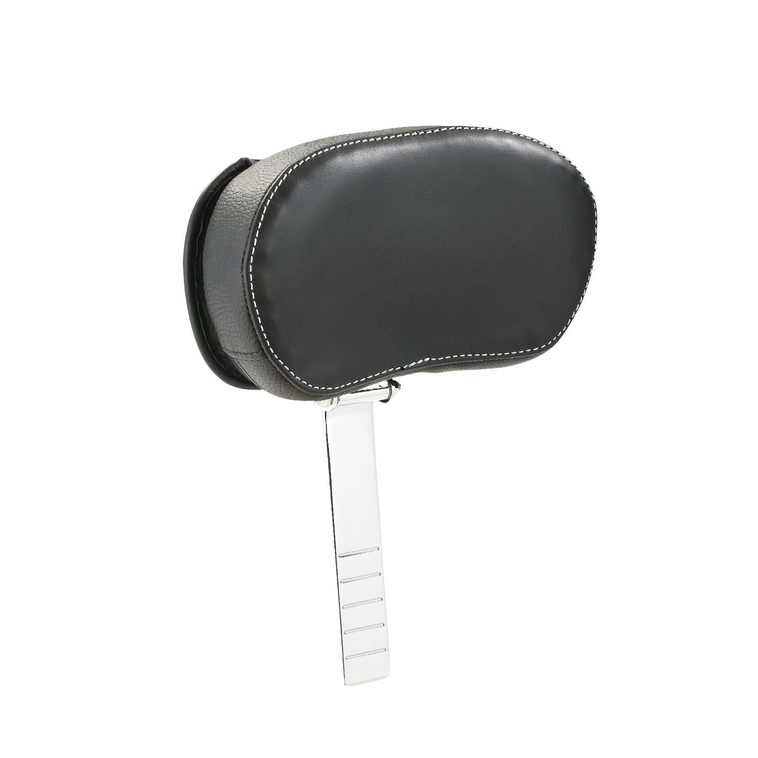 Genuine Leather Rider Backrest Pad - Black