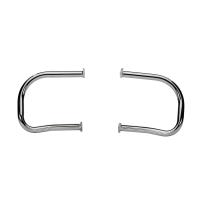 Steel Rear Highway Bars, Pair