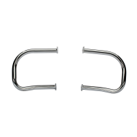 Rear Highway Bars - Chrome