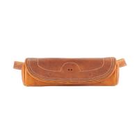 Genuine Leather Fork Bag - Desert Tan