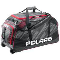 Ogio for Polaris 8800 Trucker Bag Subtle Stripe - Black/Red