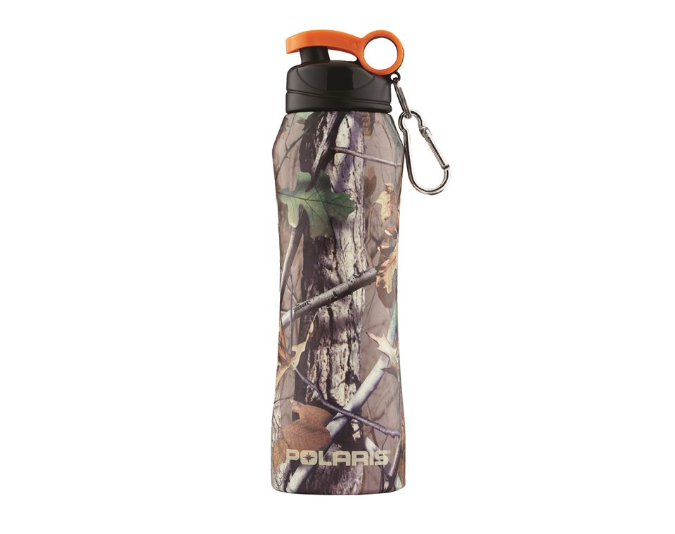 18 oz. Stainless Steel Water Bottle, Polaris® Pursuit® Camo