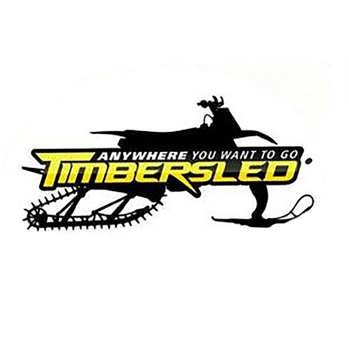 "Timbersled® 6"" Sticker"