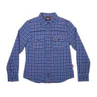 Women's Plaid 2 Shirt - Blue