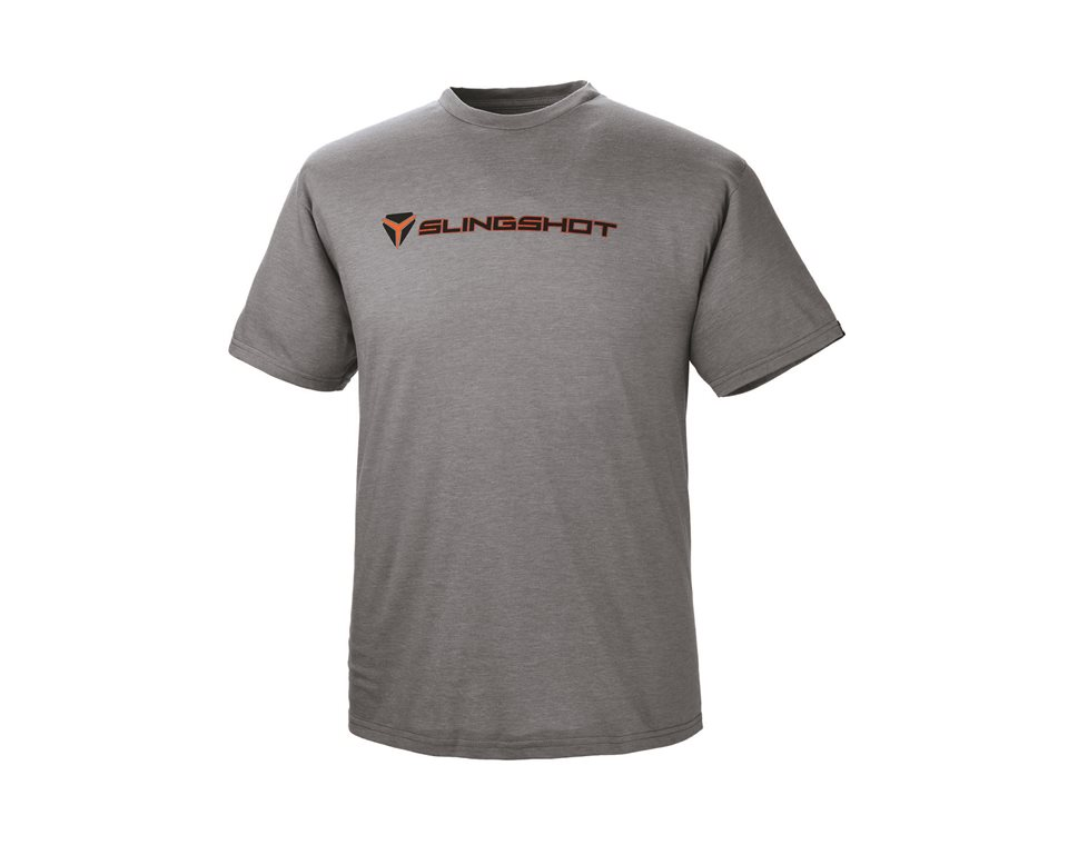 #1 Classic Tee - Gray/Orange