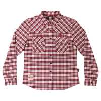 Ladies IMC Plaid Shirt - Red