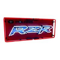 Neon Sign with Polaris® RZR® Logo