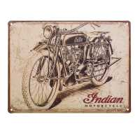 Antique Drawing Metal Sign