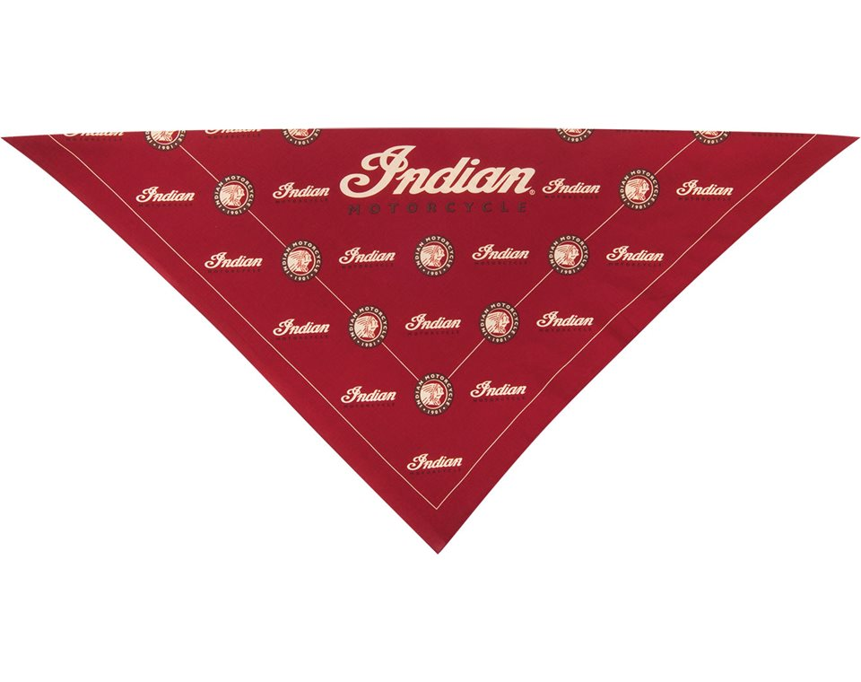 Indian Motorcycle® Bandana- Red