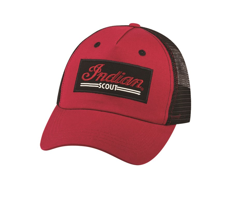 Scout® Patch Hat, Red