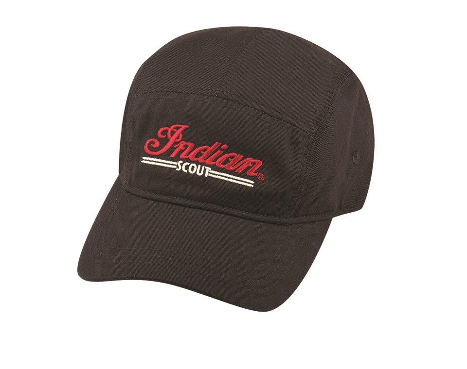 Men's 5 Panel Scout Hat - Black