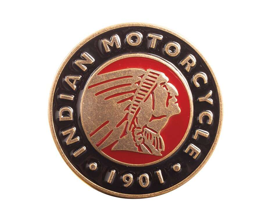 Indian Motorcycle Mens Circle Buckle Indian Motorcycle
