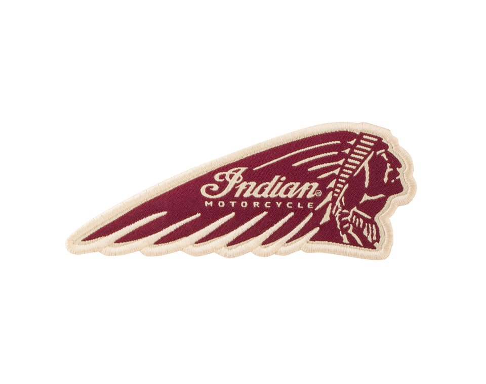Indian Motorcycle® Headdress Patch