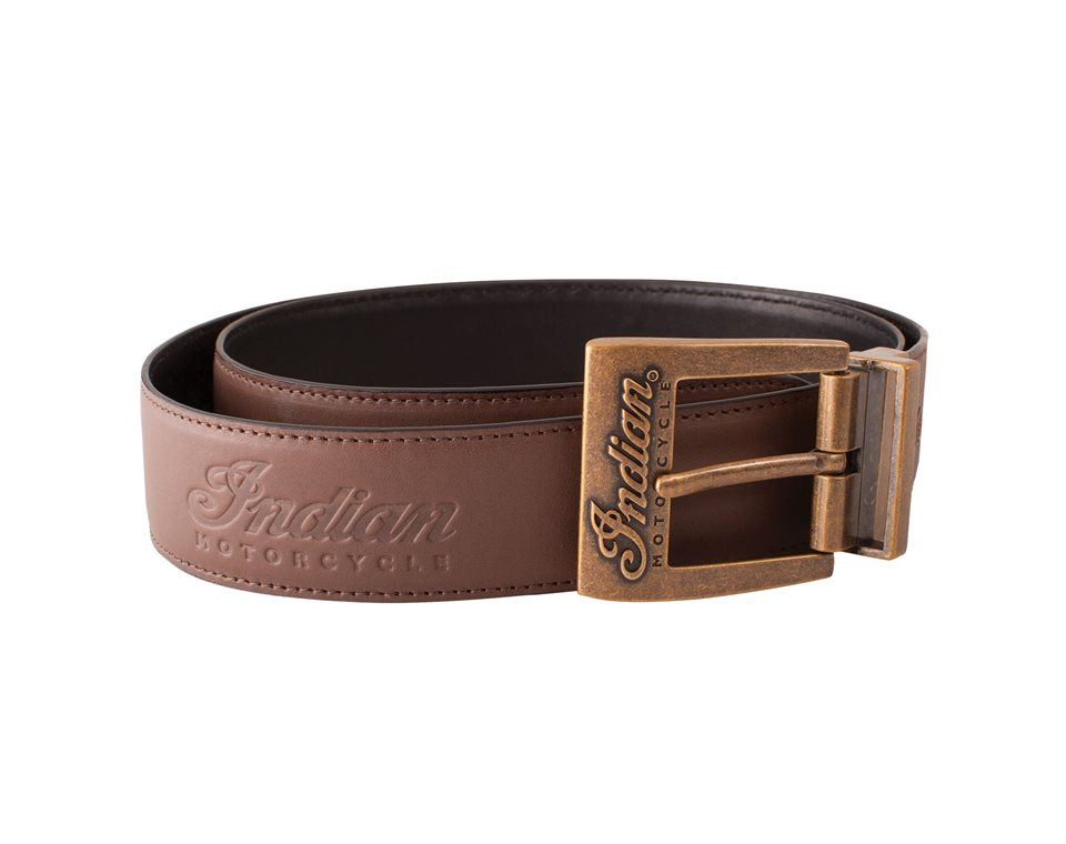 Reversible Leather Belt, Black/Brown