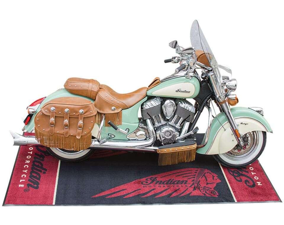 Logo Bike Mat Indian Motorcycle