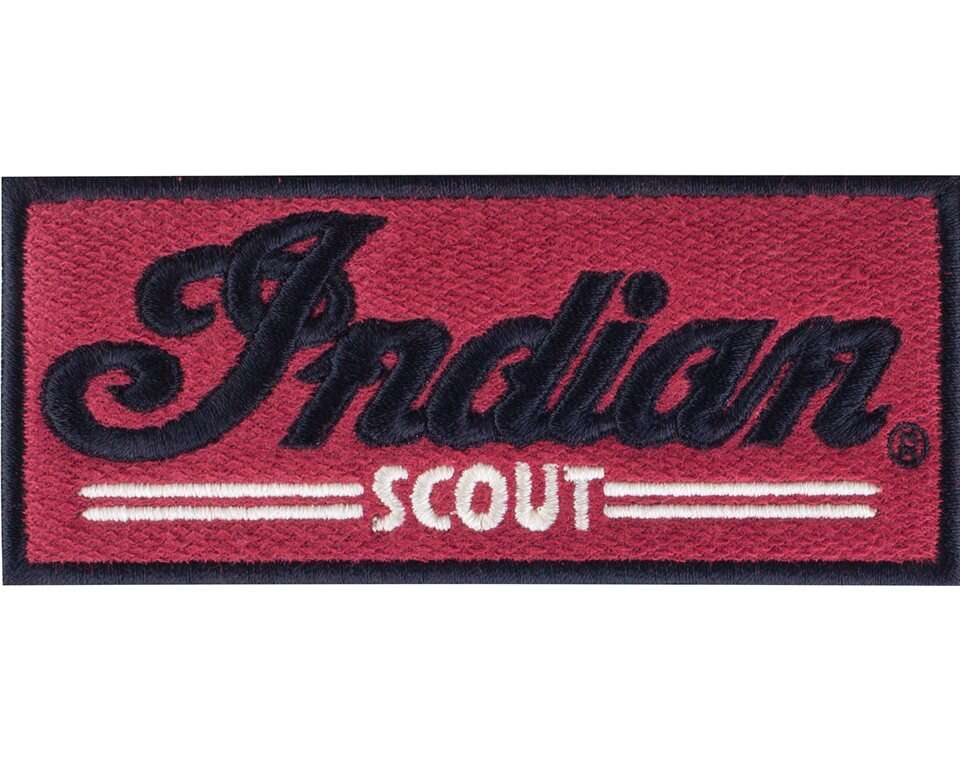 Indian® Scout® Patch Red