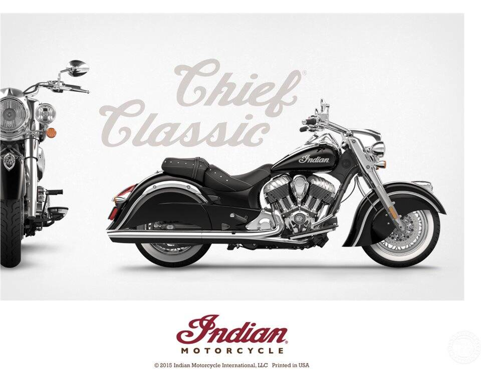 Indian Motorcycle® Classic Chief Poster