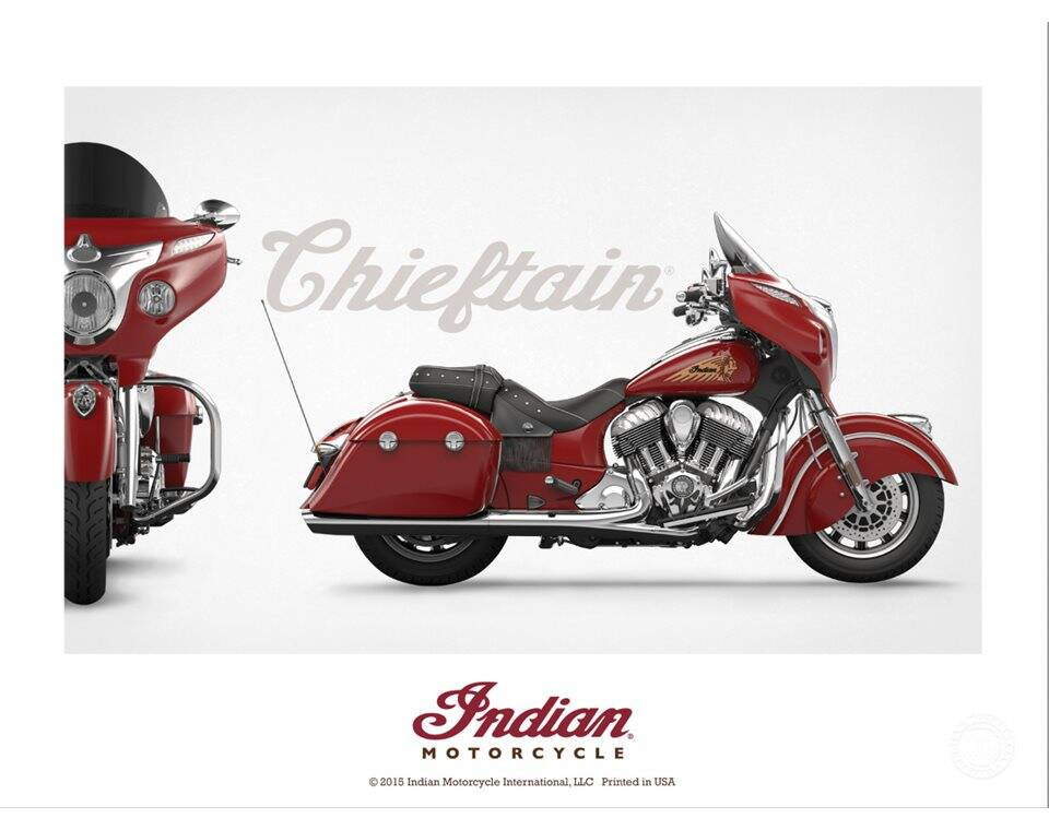 Indian Motorcycle® Chieftain Poster
