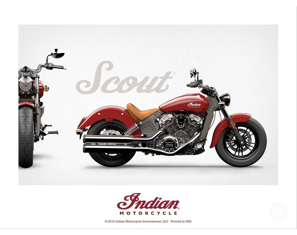 indian scout poster indian motorcycle. Black Bedroom Furniture Sets. Home Design Ideas