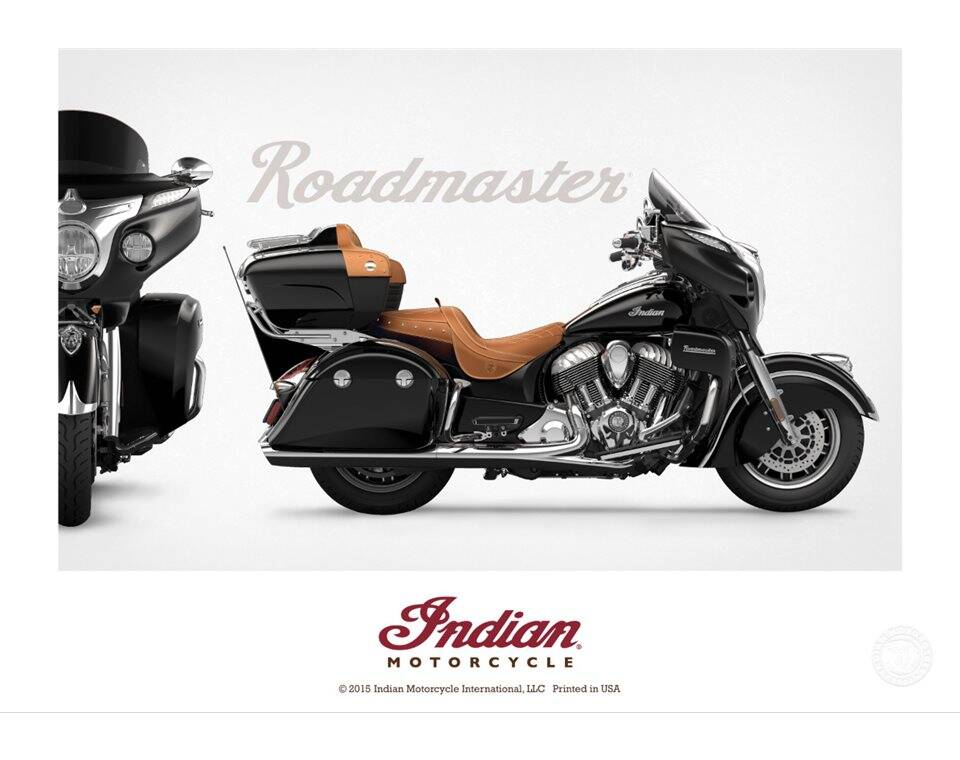 Indian Motorcycle® Roadmaster Poster