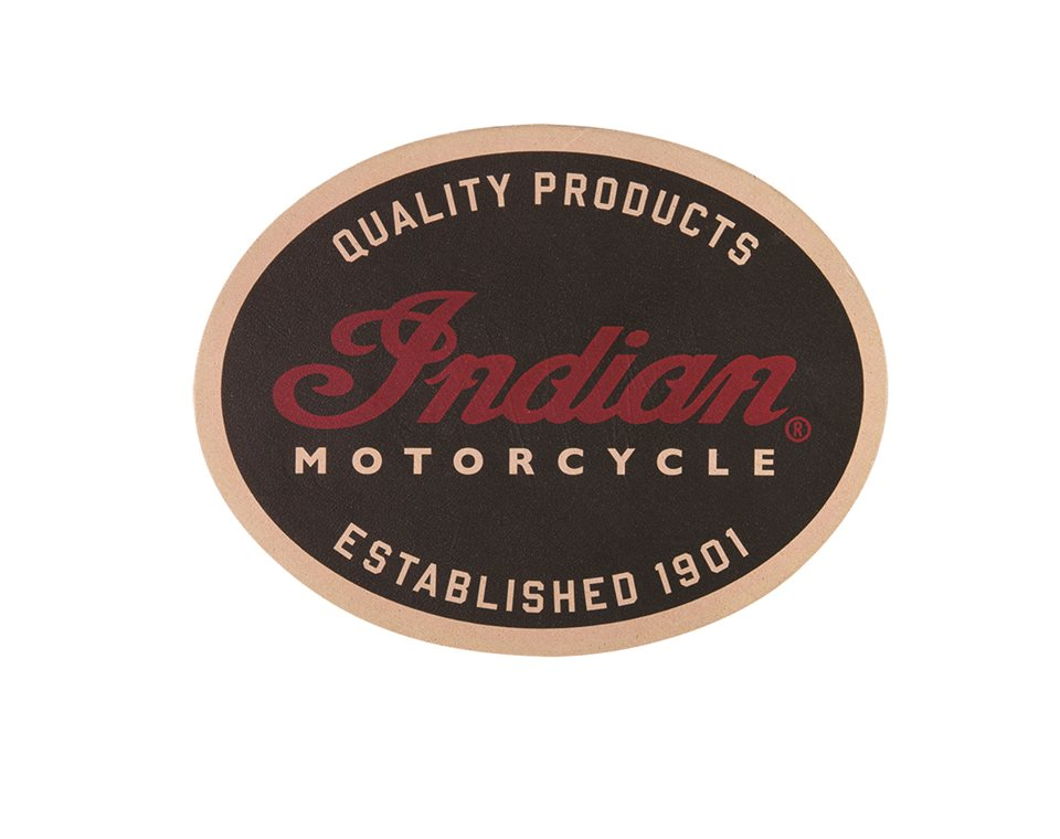 Indian Motorcycle® Quality Leather Patch
