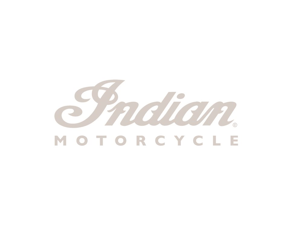 Indian Motorcycle® Script Decal - White