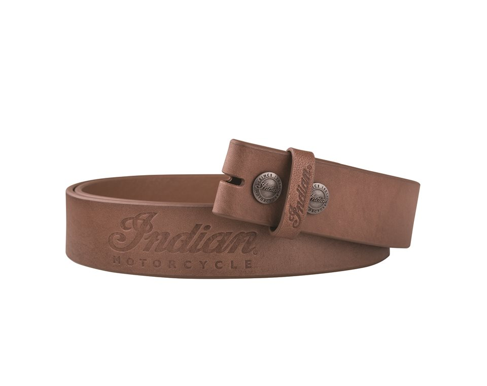 Leather Belt Strap, Brown
