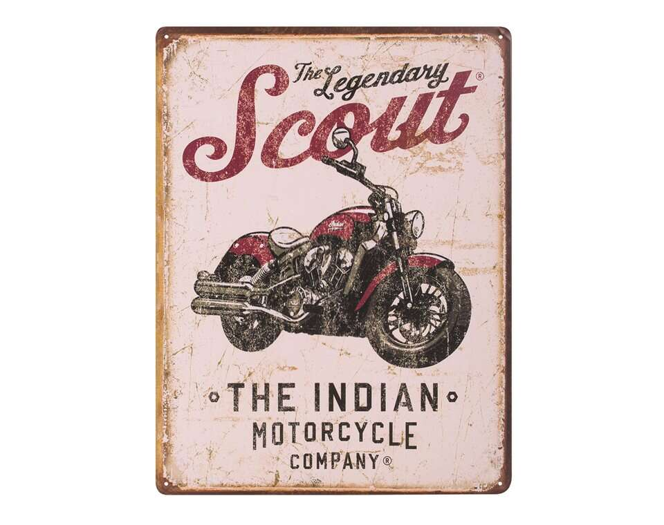 Scout® Motorcycle Sign