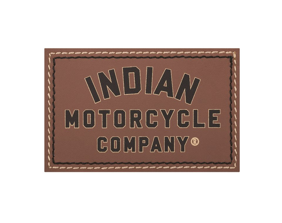 Brown Leather Patch