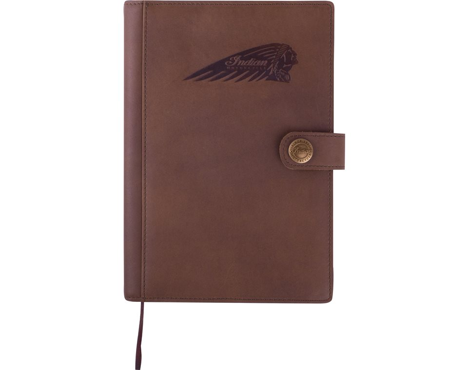 Indian Motorcycle® Leather Notebook