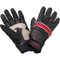 Retro Glove Ladies - Black/Red