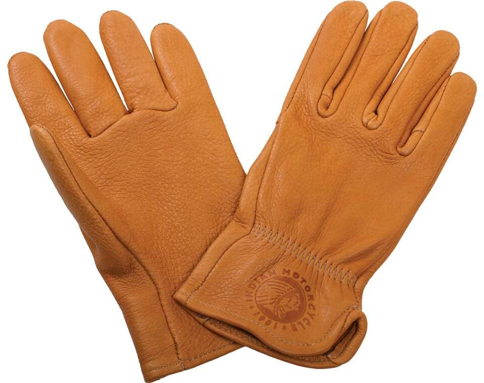 Women's Deerskin Leather Gloves, Tan