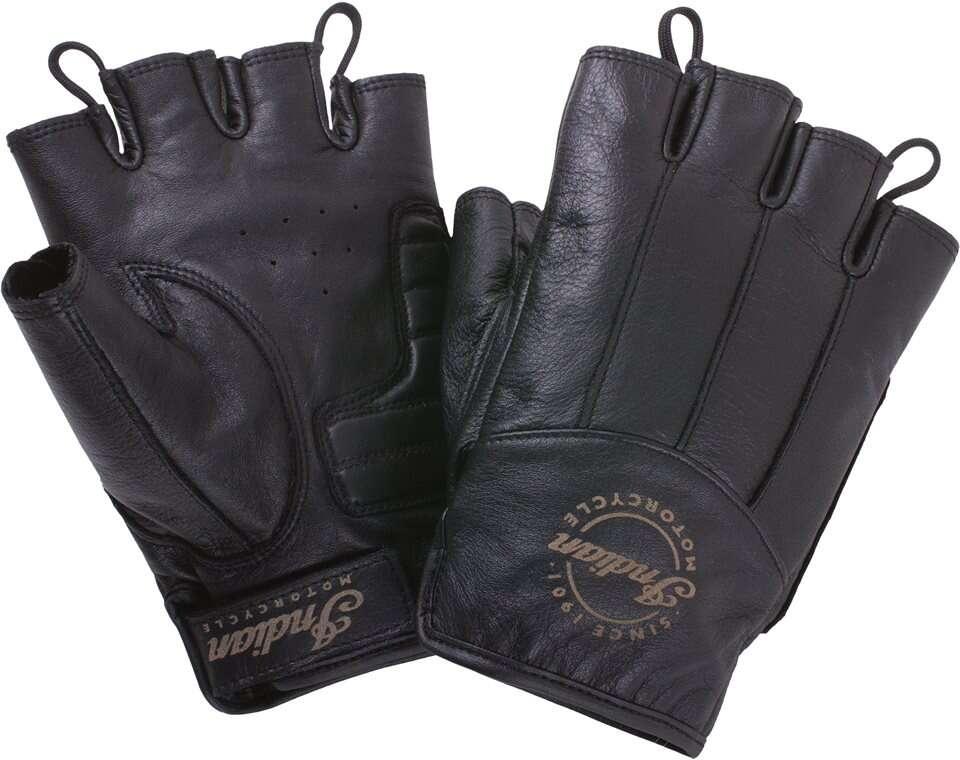 Winter Motorcycle Gloves >> Men's Fingerless Gloves | Indian Motorcycle