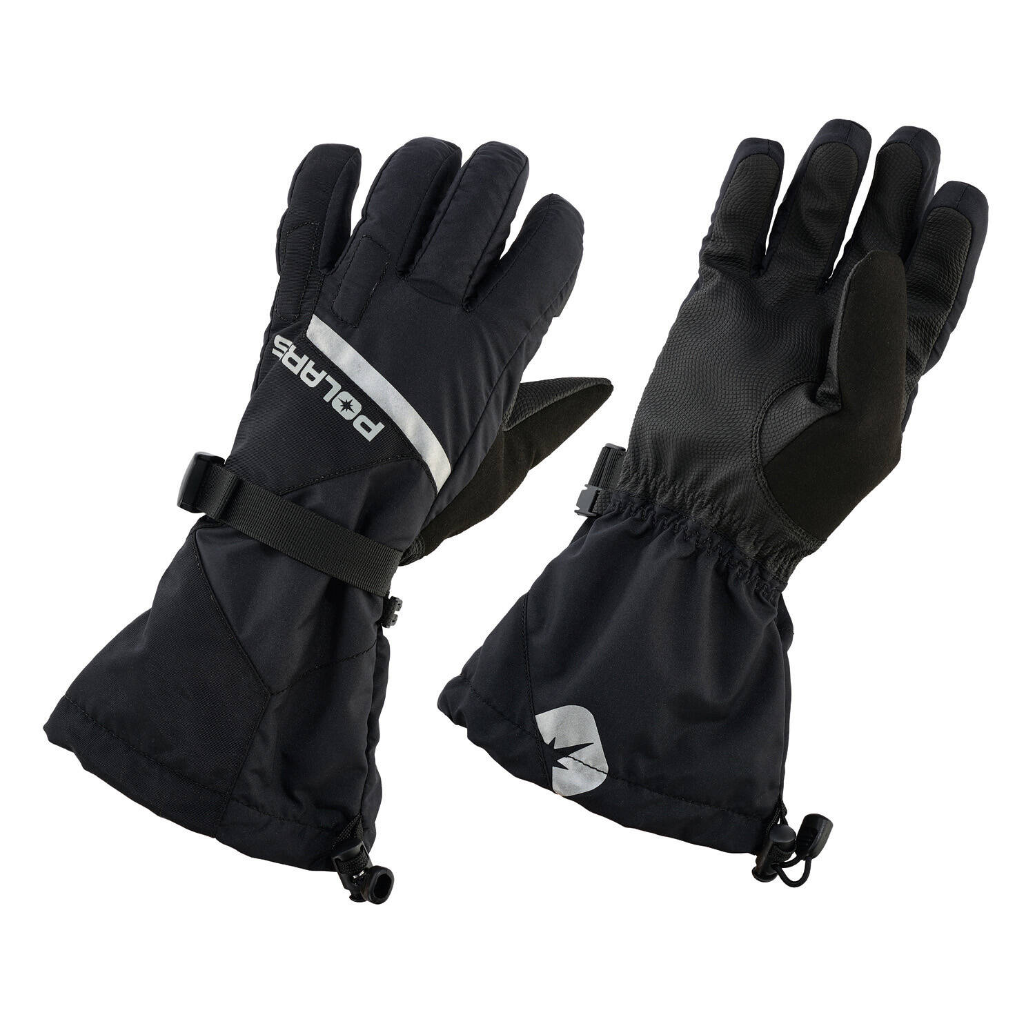 Men's Level 2 Trail Glove with Anti-Slip Technology, Black
