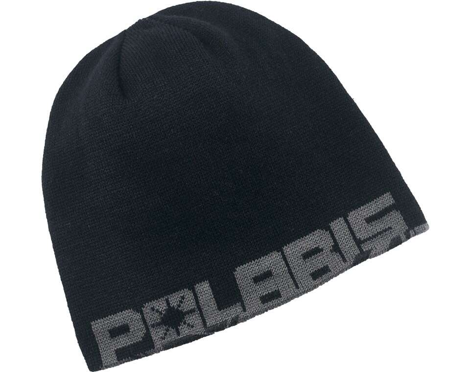 Youth Reversible Printed Beanie - Gray Cracked