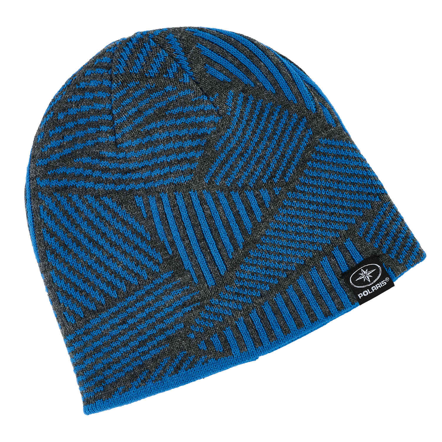 93af139366c Reversible Jersey Knit Beanie - Blue