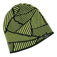 Reversible Jersey Knit Beanie - Lime