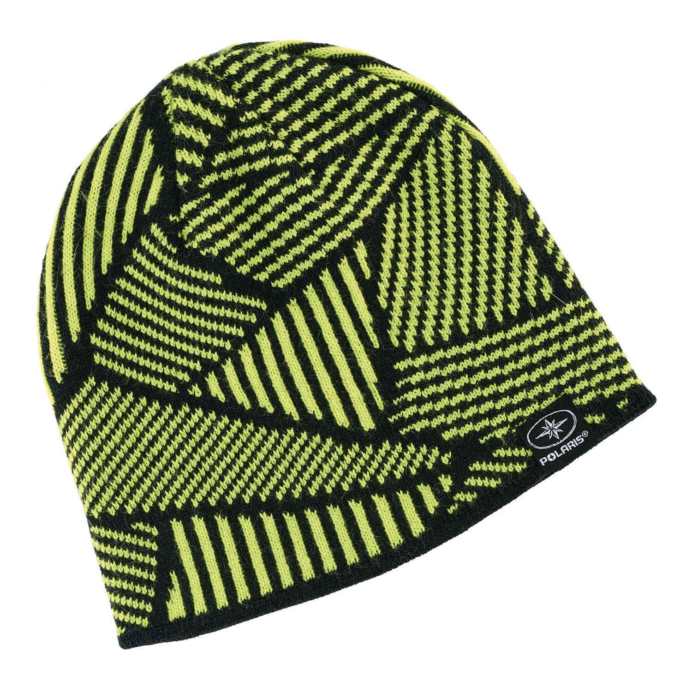Reversible Jersey Knit Beanie - Lime  2a24a6bd874