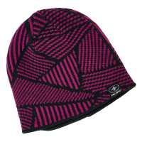 Reversible Jersey Knit Beanie - Pink